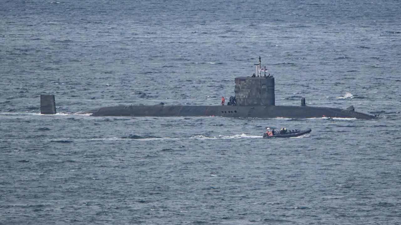 СОКС на британской атомной подводной лодке Talent