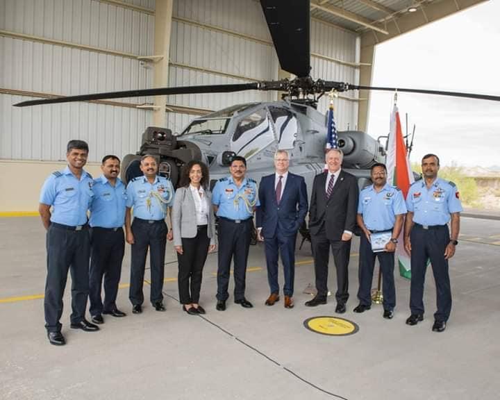 Индия получила первый вертолет АН-64Е Apache