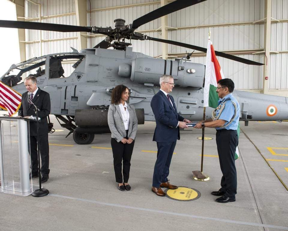 Индия получила первый вертолет АН-64Е Apache Индии, Boeing, вертолетов, Apache, AH64E, Guardian, регистрационный, контрактам, номер, американский, временный, АН64Е, единиц, линии, Индией, заказанных, CH47FI, 10052019, вертолет, боевых