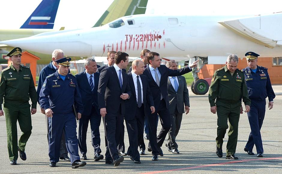 Контракт на производство стратегических бомбардировщиков Ту-160М2 может быть расширен
