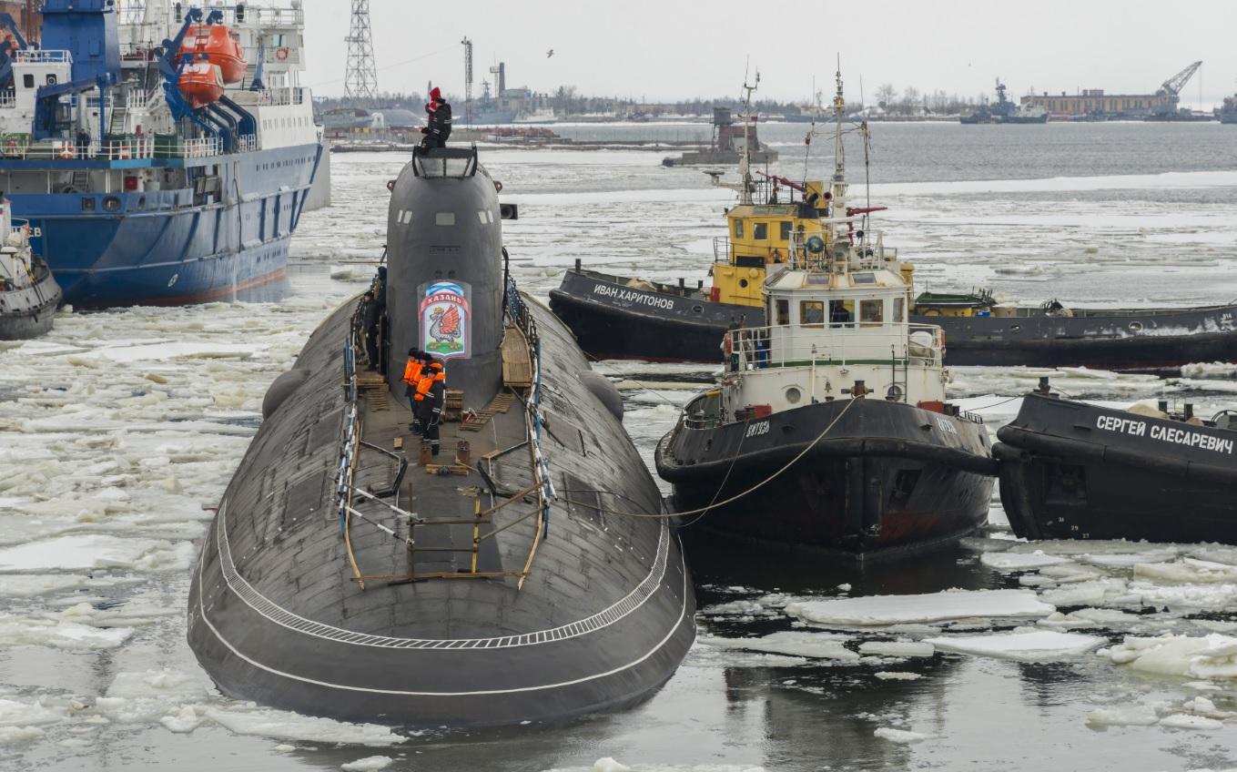 """Атомная подводная лодка """"Казань"""" не будет сдана ВМФ в 2019 году"""