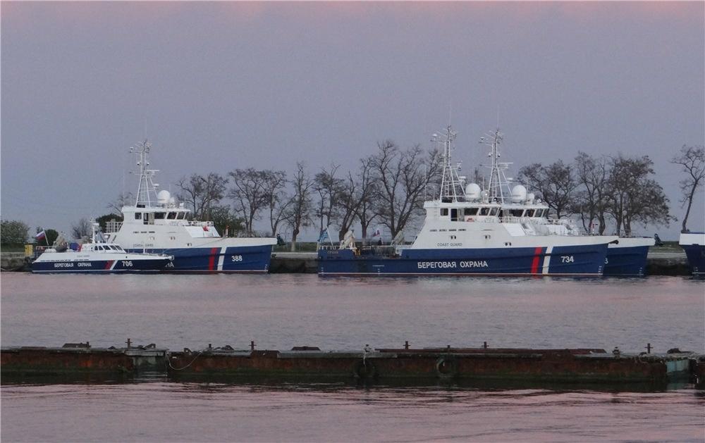 Введены в строй пограничные сторожевые корабли «Коршун» и «Кречет» проекта 03050