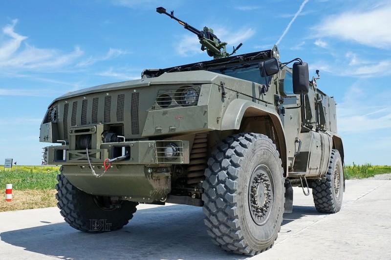 """Защищенный автомобиль К-4386-ПВО """"Тайфун-ПВО"""" в Ейске"""