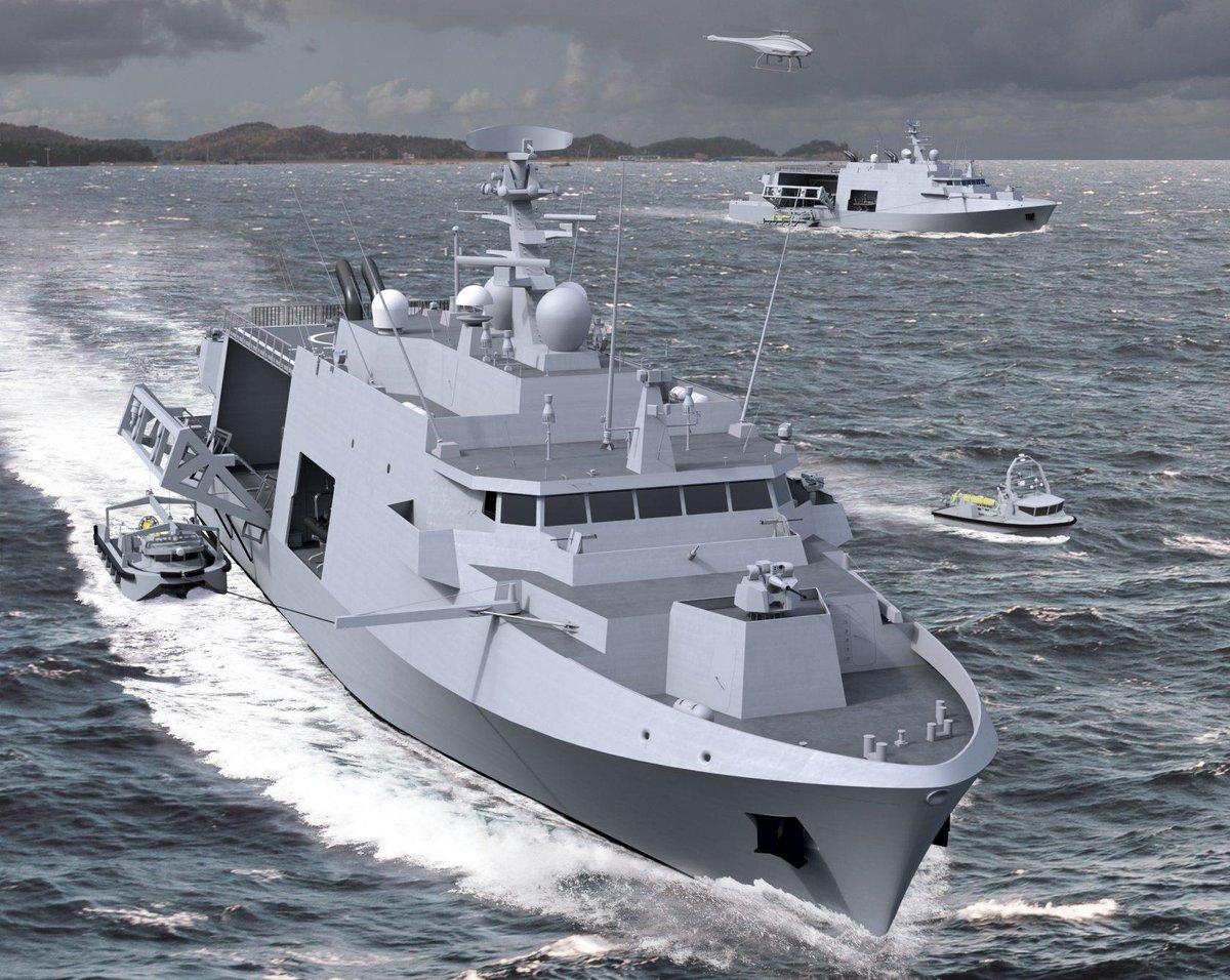 Контракт на большие минно-тральные корабли для Бельгии и Нидерландов
