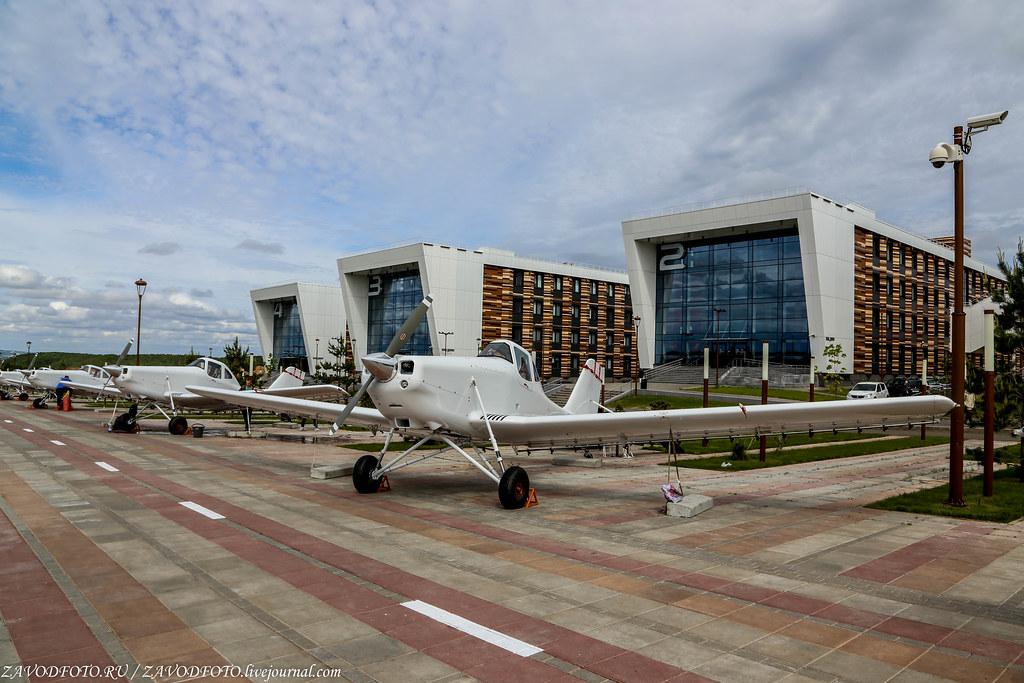 Строительство завода экспериментальной авиации в Татарстане