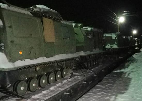 Двухзвенный снегоболотоход ГАЗ-3344-20 Алеут