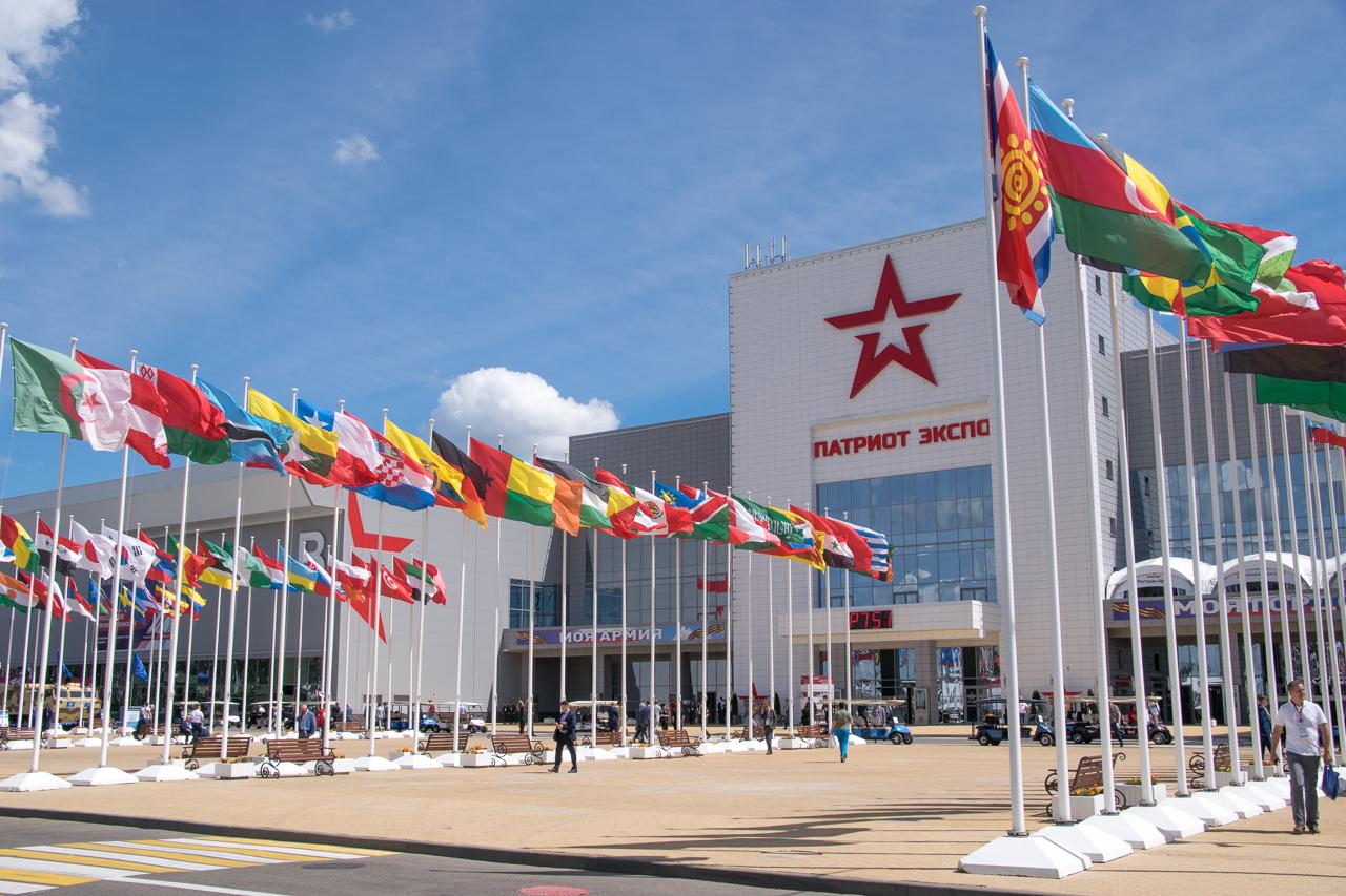 Открытие Пятого международного военно-технического форума «Армия-2019»