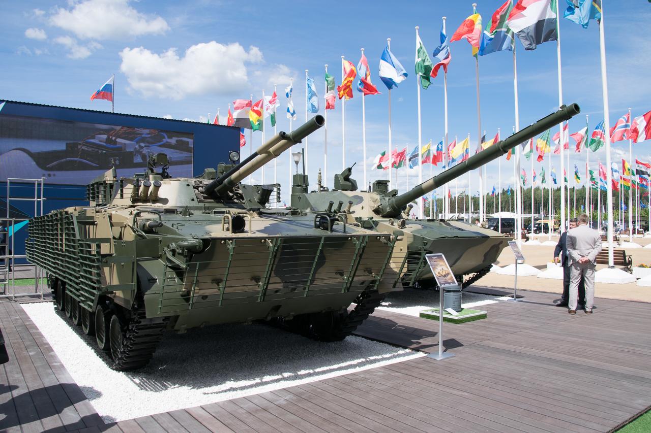 Форум «Армия-2019» - наземные техника и вооружение