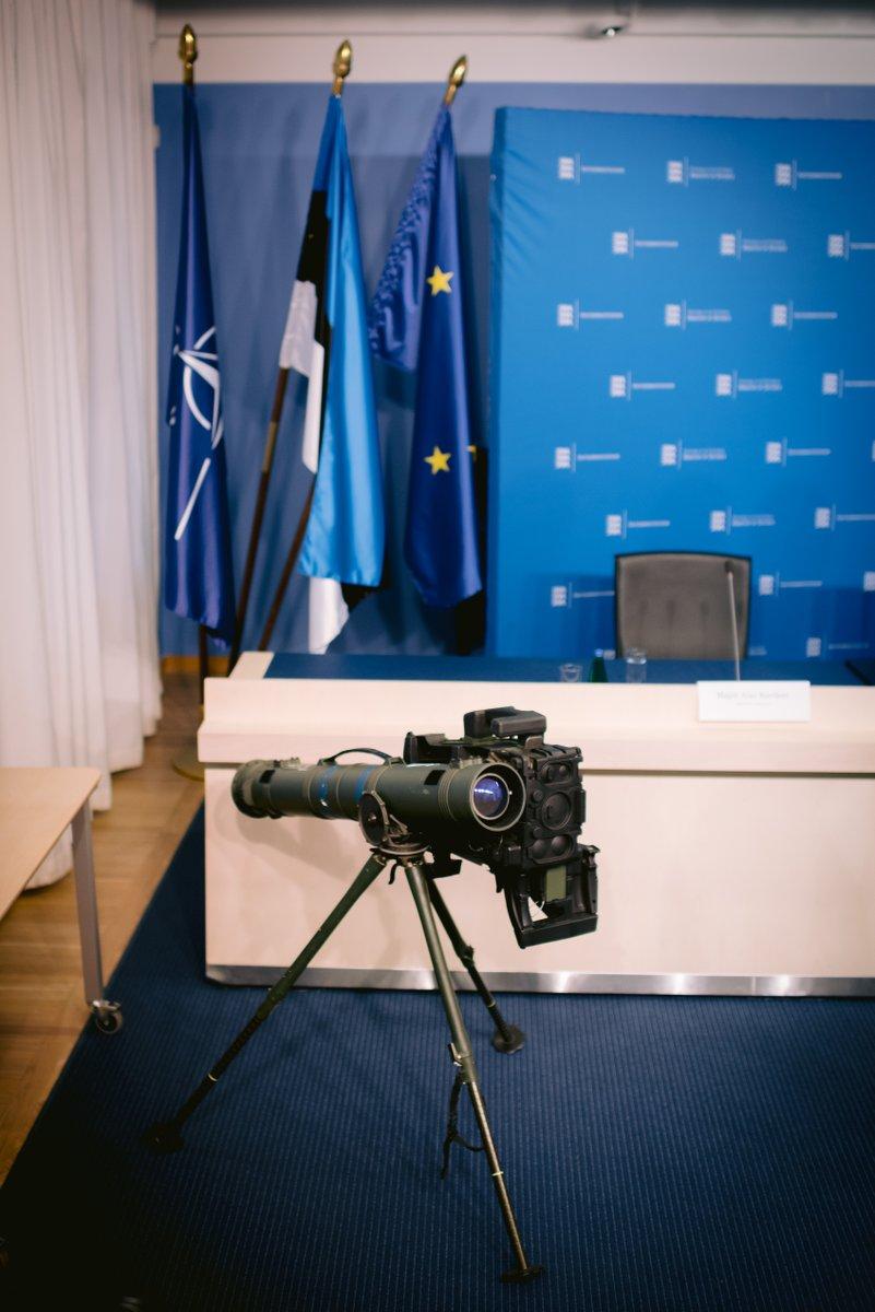 Эстония приобретает противотанковые ракетные комплексы Spike-LR II