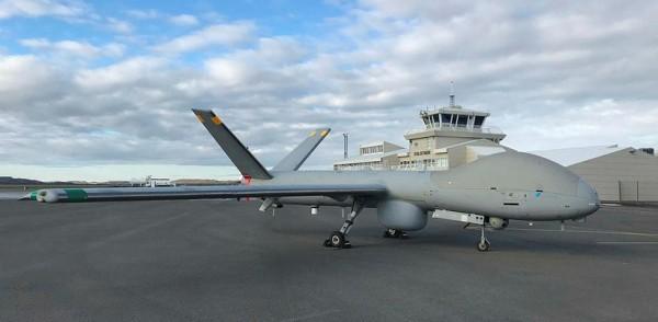 Израильские беспилотные летательные аппараты Elbit Hermes 900 в береговой охране Исландии
