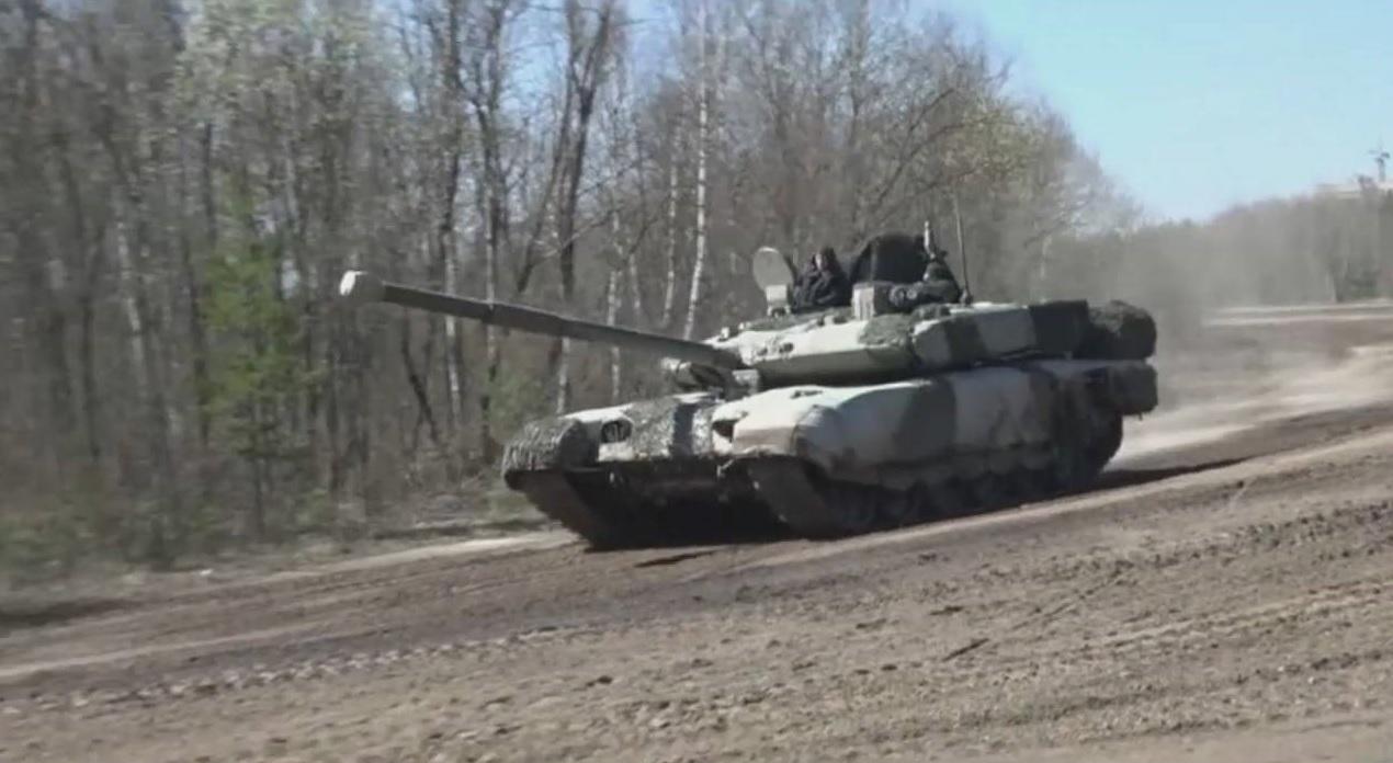 Контракт на модернизацию танков Т-90А в модификацию Т-90М
