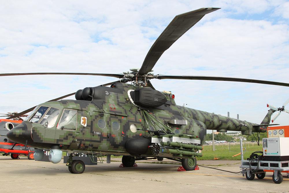 Контракт на поставку Министерству обороны России десяти вертолетов Ми-8АМТШ-ВН