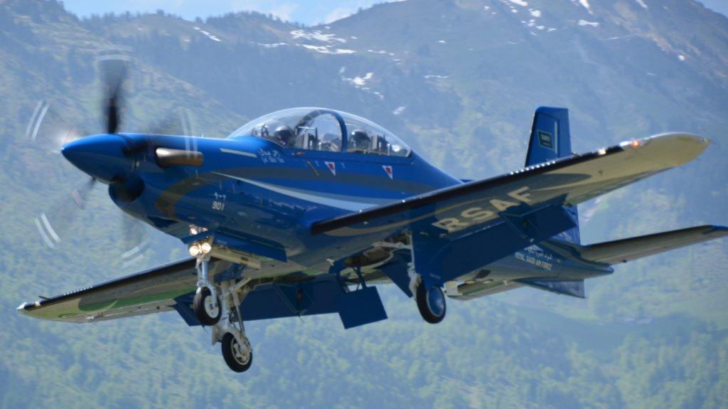 Компании Pilatus запрещено оказывать техническую поддержку самолетов РС-21 Саудовской Аравии и ОАЭ