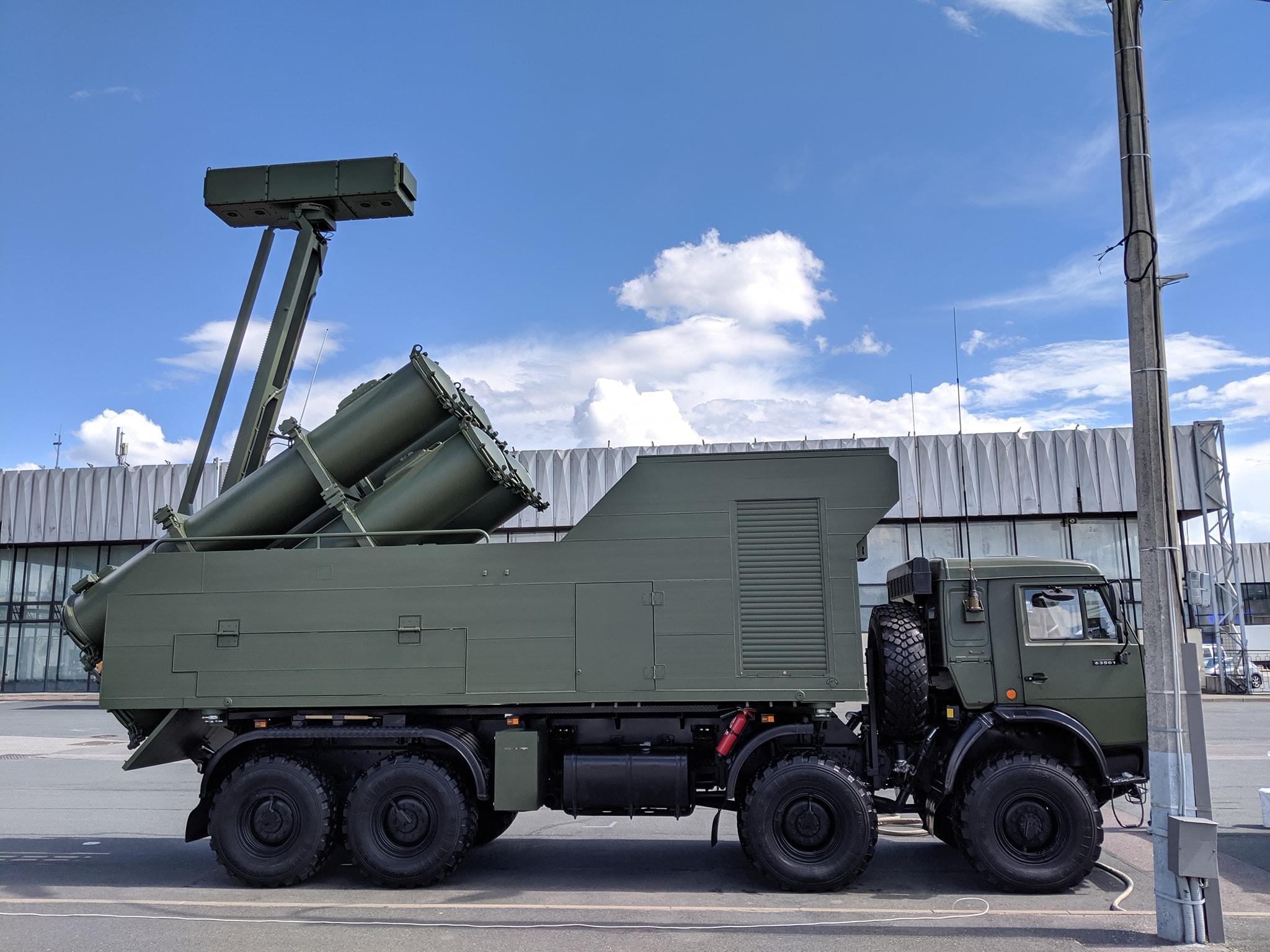 Береговой противокорабельный ракетный комплекс