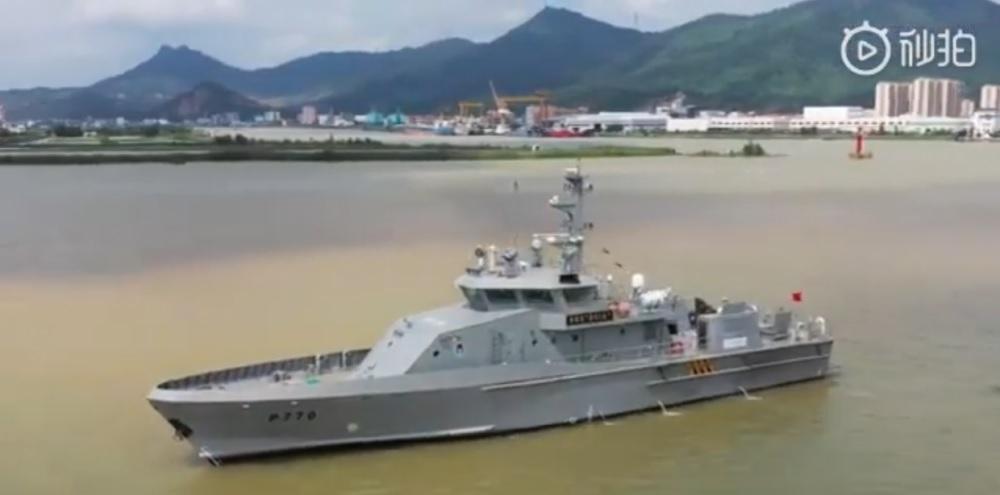 Китайские cторожевые катера проекта JL3880 для ВМС Нигерии