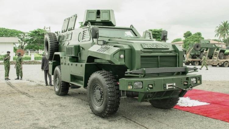 Модернизированная нигерийская бронированная машина ARA II класса MRAP