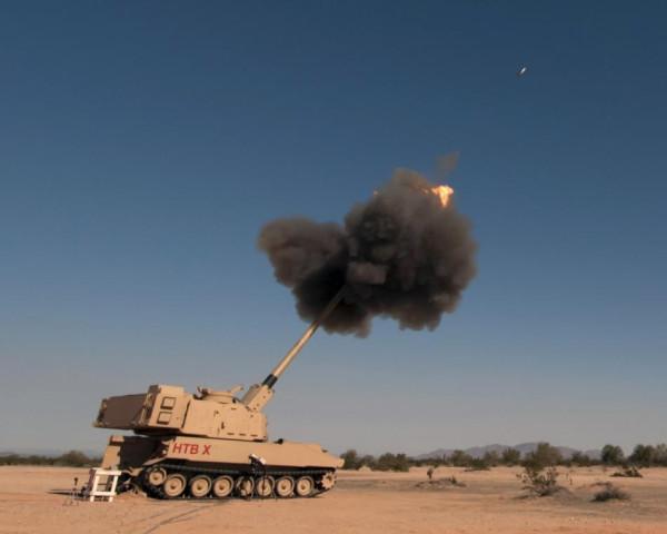 Контракт на создание американской перспективной 155-мм дальнобойной самоходной гаубицы