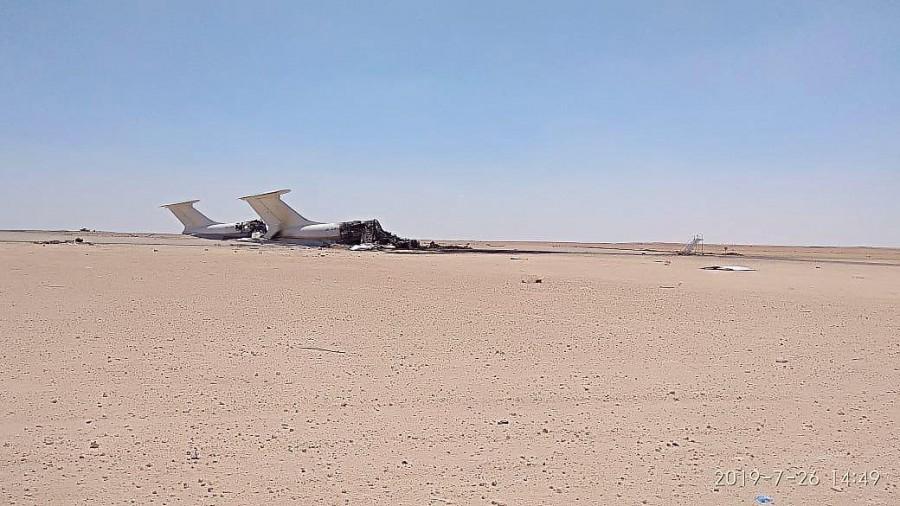 В Ливии уничтожены два украинских транспортных самолета Ил-76ТД