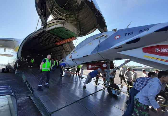В Индонезию доставлены два отремонтированных в Белоруссии истребителя Су-30МК