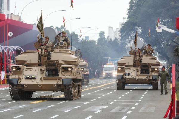 Военный парад в Перу
