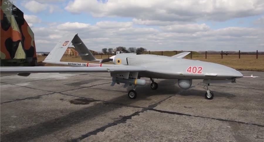 Вооруженные силы Украины продолжают освоение турецкого беспилотного комплекса Bayraktar TB2