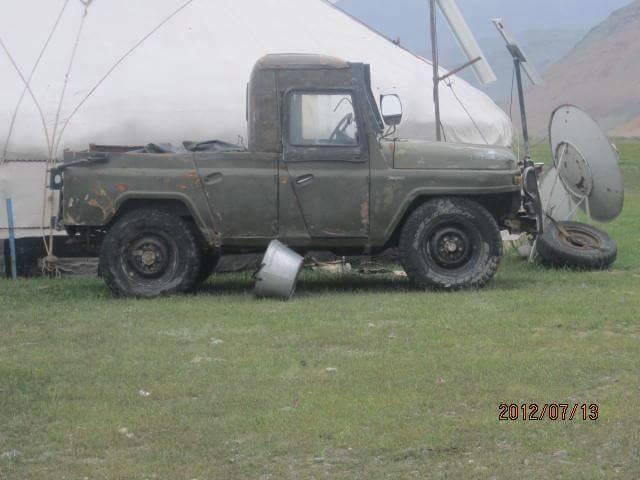 УАЗ - тюнинг по-монгольски