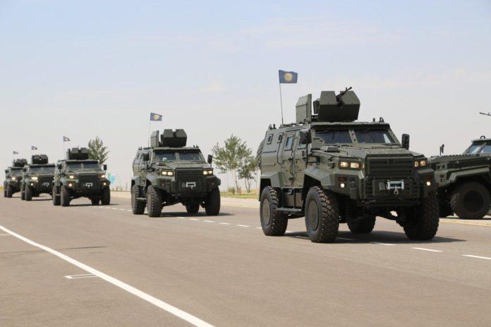 Узбекистан получил 24 турецкие бронированные машины Ejder Yalçın