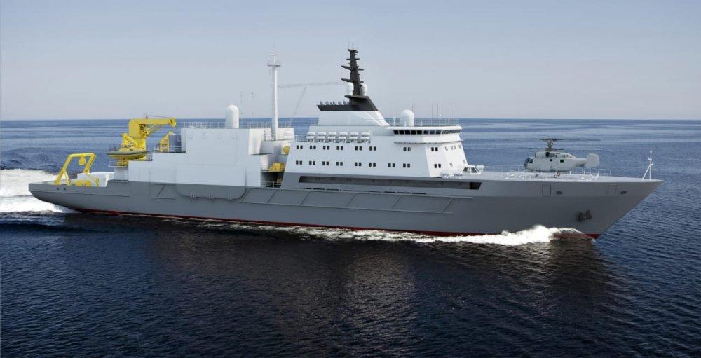 Откладывание строительства спасательных судов подводных лодок проекта 21300