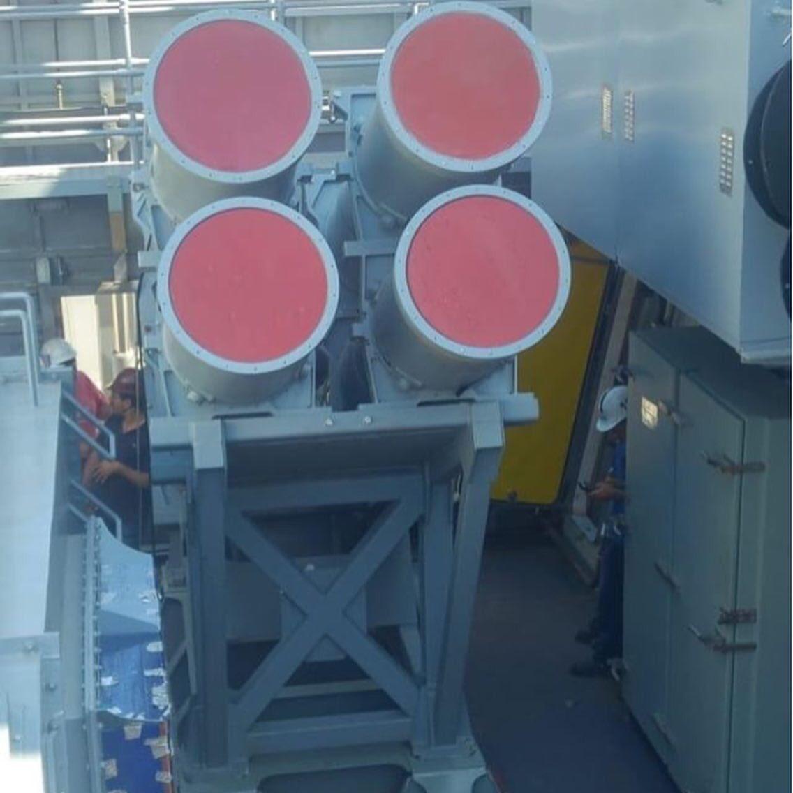 Первый турецкий корабль получает противокорабельные ракеты Atmaca