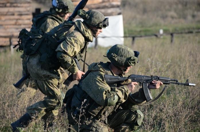Ротные тактические учения в Южном военном округе