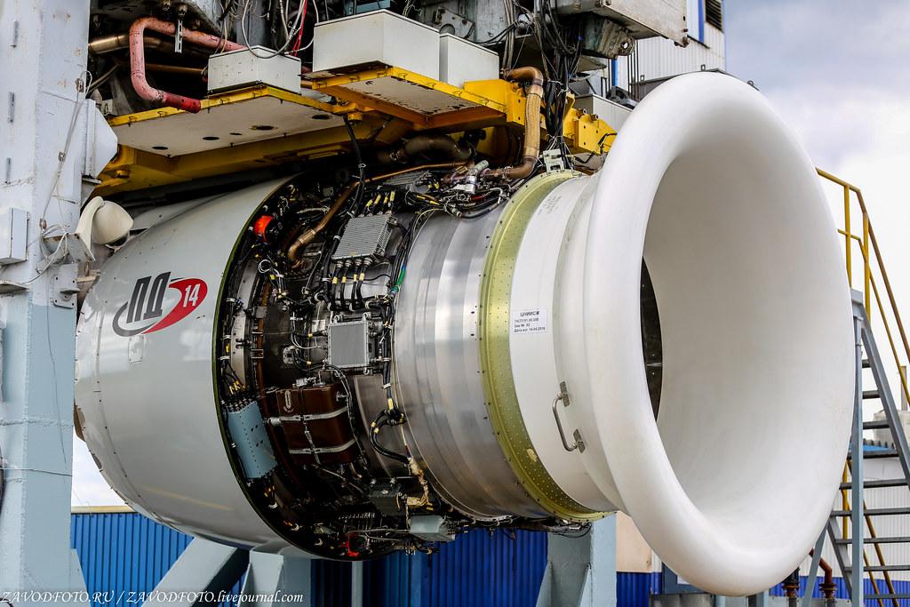 Импортозамещение в конструкции двигателя ПД-14