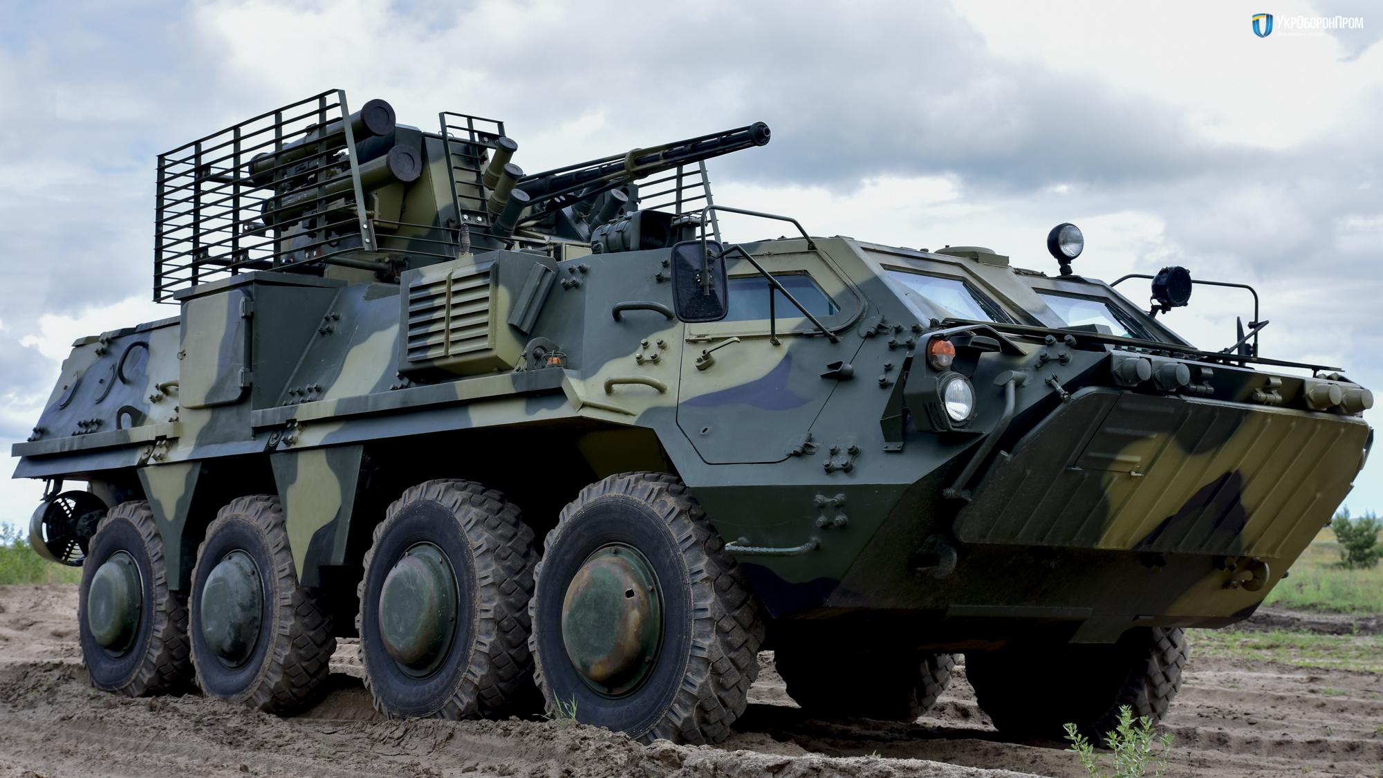 Министерство обороны Украины обвиняет ХКБМ в срыве серийного производства бронетранспортеров БТР-4Е