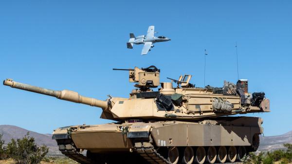 Танковый парк соединений армии США