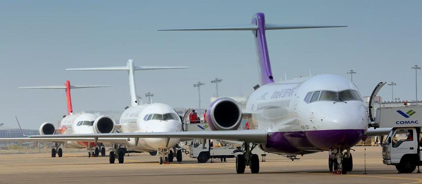 """""""Партия сказала - """"надо"""": три крупнейшие китайские авиакомпании заказали 105 самолетов ARJ21-700"""
