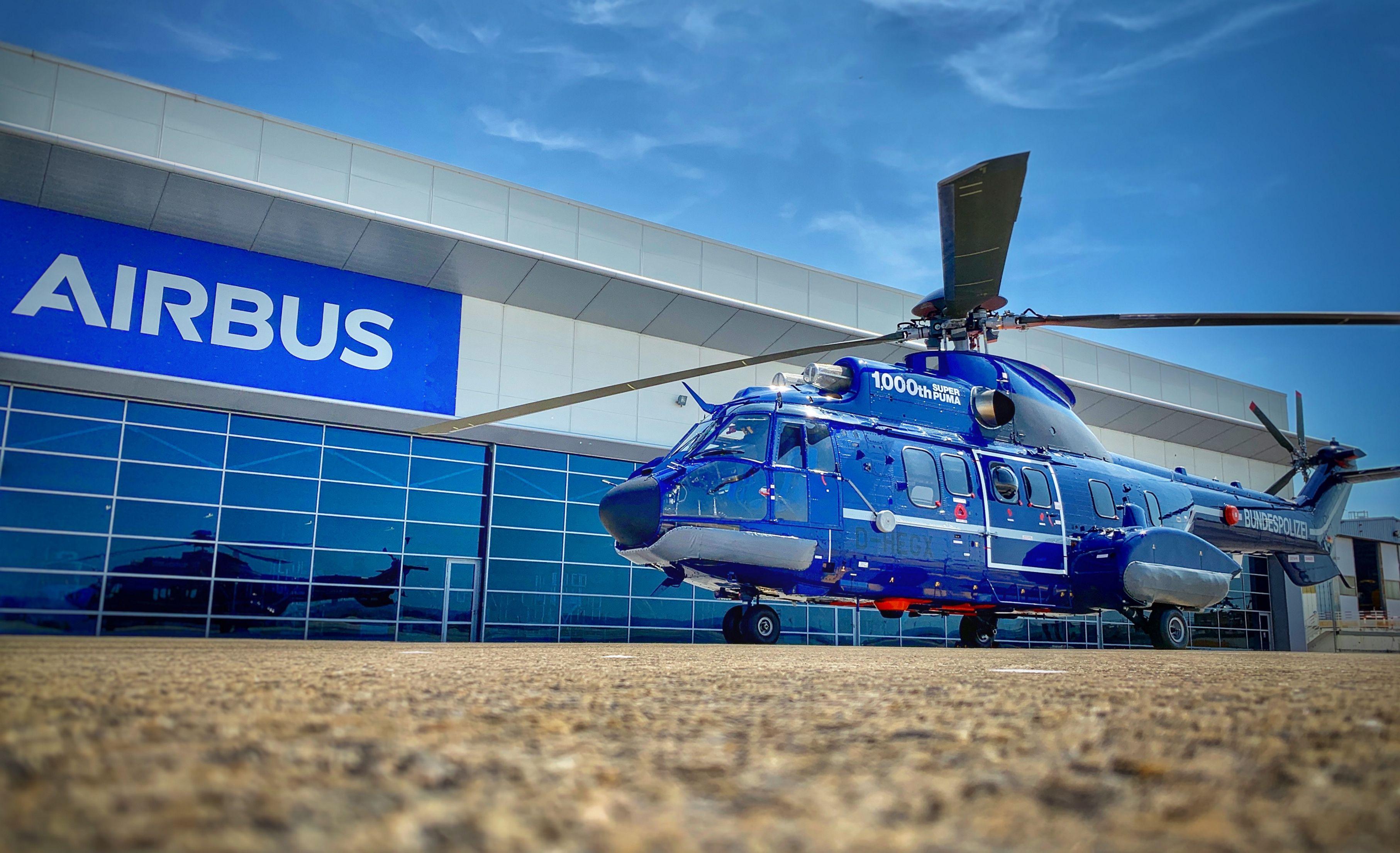 Airbus поставил 1000-й вертолет Super Puma H215