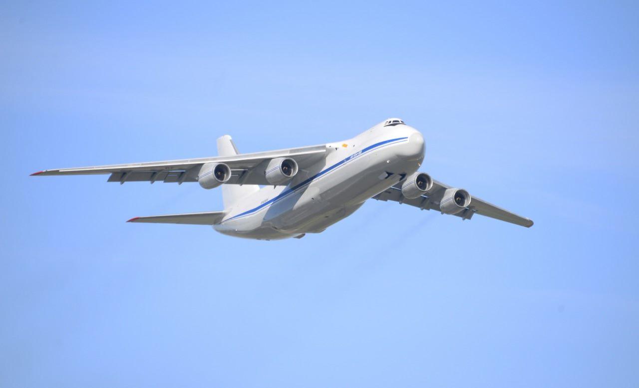 Восстановлен еще один военно-транспортный самолет Ан-124-100 ВКС России