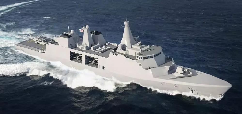 Британские фрегаты типа 31 будут построены группой Babcock