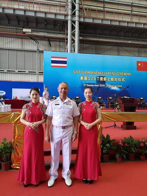 В Китае заложена первая подводная лодка проекта S26T для таиландского флота