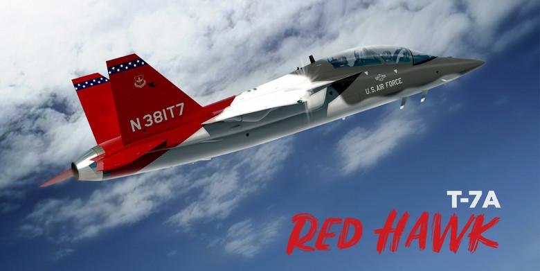 Самолет Т-Х получил в ВВС США официальное обозначение Т-7А Red Hawk