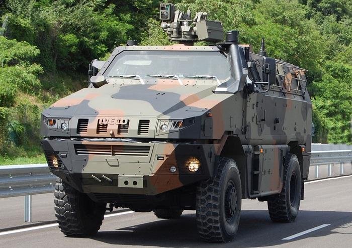Нидерланды приобретают 1275 колесных бронированных машин Iveco MTV