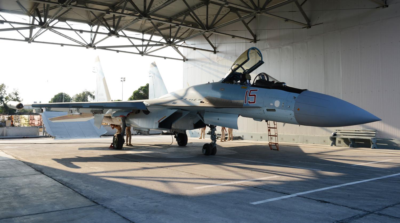 Су-35С в Сирии