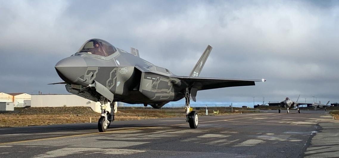 Первое боевое дежурство F-35 в ПВО НАТО
