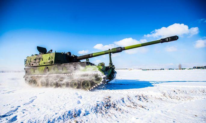 Эстония закупает еще шесть южнокорейских 155-мм самоходных гаубиц К9