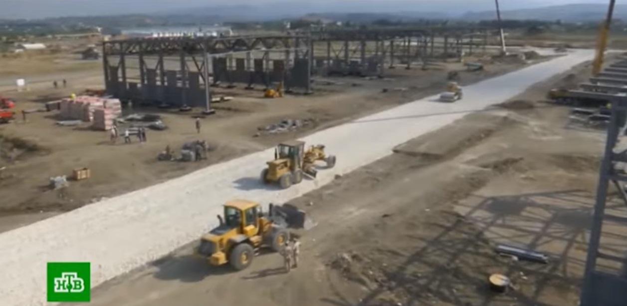 Продолжение масштабного строительства на авиабазе Хмеймим