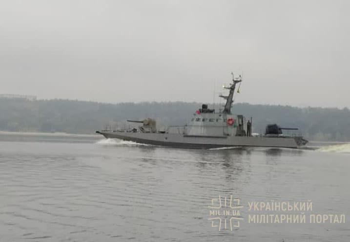Завершен строительством седьмой украинский бронекатер проекта 58155