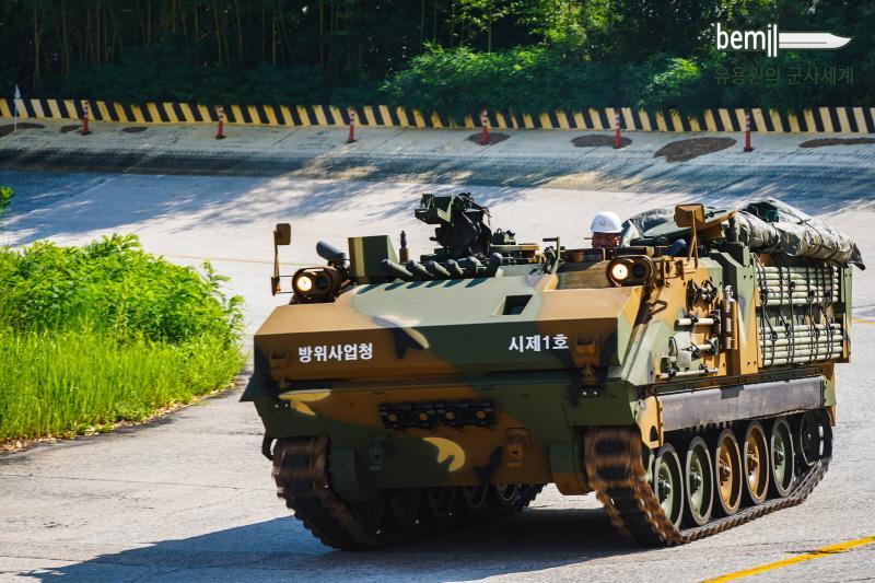 Новый южнокорейский 120-мм самоходный миномет
