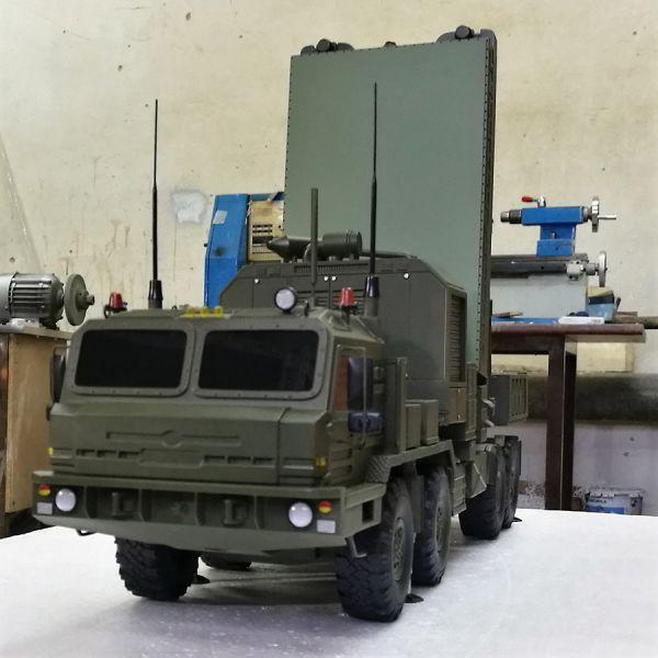 Радиолокационный комплекс разведки огневых позиций артиллерии «Ястреб АВ» 6t841