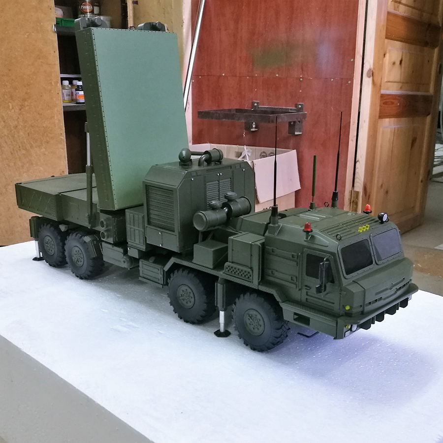 Радиолокационный комплекс разведки огневых позиций артиллерии «Ястреб АВ» e294f16c89671fc9479ac6c674e1b4a6
