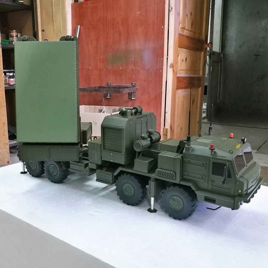 Радиолокационный комплекс разведки огневых позиций артиллерии «Ястреб АВ» c851e824f839d9f23b7e3ce83d919295