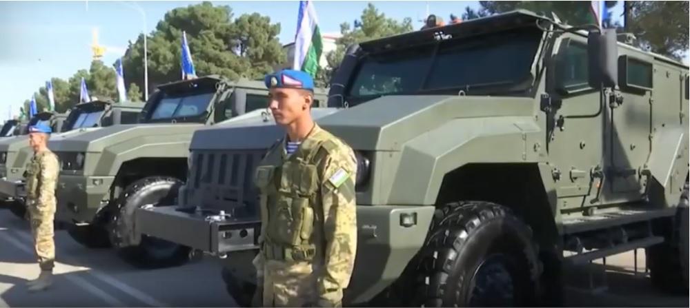 """Защищенные автомобили К53949 """"Тайфун-К 4х4"""" начали поступать на вооружение армии Узбекистана"""
